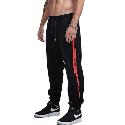Flash Thunder Printed Jogger Pants-men fashion & fitness-wanahavit-red-S-wanahavit