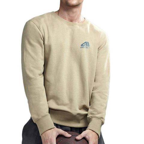 Solid Colored Long Sleeve Sweatshirt