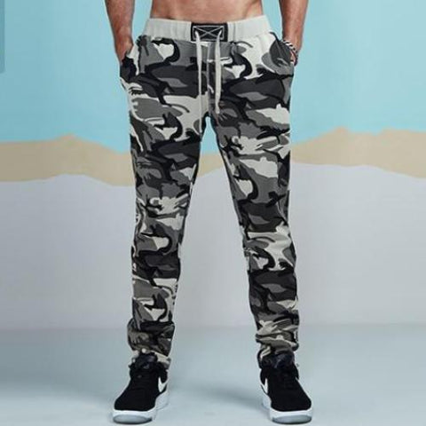 Light Color Camouflage Jogger Pants-men fashion & fitness-Camouflage 2-S-wanahavit