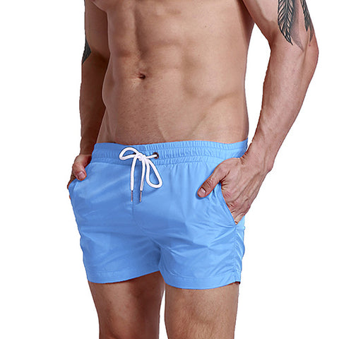 Sexy Beach Board Shorts-men fitness-wanahavit-LightBlue-M-wanahavit
