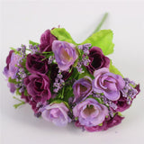 15 Heads Small Rose Buds Bouquet-home accent-wanahavit-C PURPLE-wanahavit