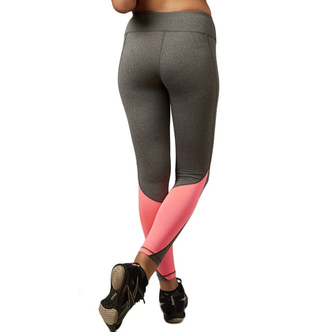 Elastic Patchwork Color Accent Quick Dry Legging