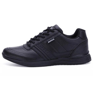 Casual Comfortable Lightweight Outsole Lace Up Shoes-unisex-wanahavit-Black-8-wanahavit