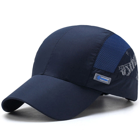 Street Empire Solid Color Baseball Cap-unisex-wanahavit-NAVY BLUE-wanahavit