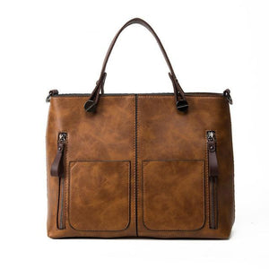 Big Satchel Main Purses Vintage Ladies Tote Bag-women-wanahavit-brown-(30cm<Max Length<50cm)-wanahavit