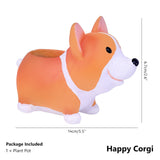 Lovely Resin Flower Vase-home accent-wanahavit-Happy Corgi-wanahavit