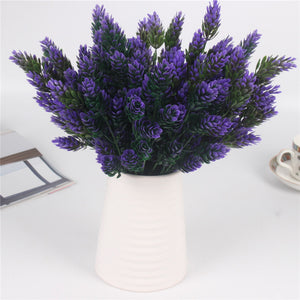 Artificial Decorative Bromegrass Plant-home accent-wanahavit-Purple-wanahavit