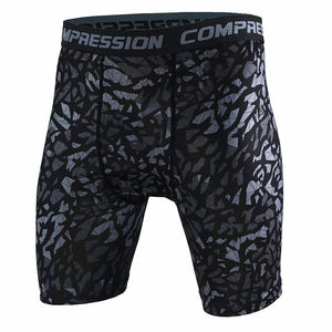 Camouflage Compression Tight Shorts-men fitness-wanahavit-A1-XL-wanahavit
