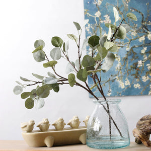 Artificial Retro Eucalyptus plant-home accent-wanahavit-Green-wanahavit
