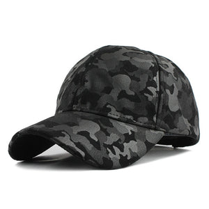 Camouflage Army Military Snapback Baseball Cap-unisex-wanahavit-F224Camouflage Black-Adjustable-wanahavit