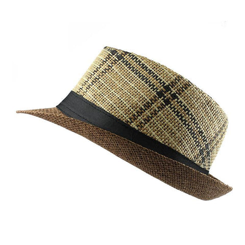 Striped Summer Sun Hat-unisex-wanahavit-F303 Dark coffee-wanahavit