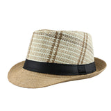 Striped Summer Sun Hat-unisex-wanahavit-F303 Light coffee-wanahavit