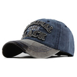 The Original Black Patched Baseball Cap-unisex-wanahavit-Gray Navy-Adjustable-wanahavit