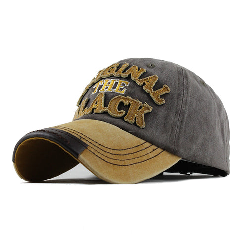 The Original Black Patched Baseball Cap