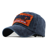 Western Patched Baseball Cap-unisex-wanahavit-Navy-Adjustable-wanahavit