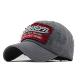 Western Patched Baseball Cap-unisex-wanahavit-Gray-Adjustable-wanahavit