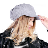 Fashion Artist Wool Beret-women-wanahavit-Dark gray-wanahavit