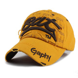 BAT Embroid Baseball Cap-unisex-wanahavit-BAT Yellow-wanahavit
