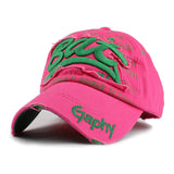 BAT Embroid Baseball Cap-unisex-wanahavit-BAT Rose Red-wanahavit