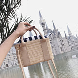 Summer Beach Straw Handbag and Purse