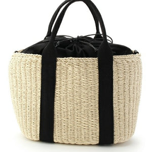 Casual Satchels Rattan Straw Tote Bag-women-wanahavit-Beige-wanahavit