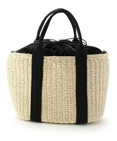 Casual Satchels Rattan Straw Tote Bag