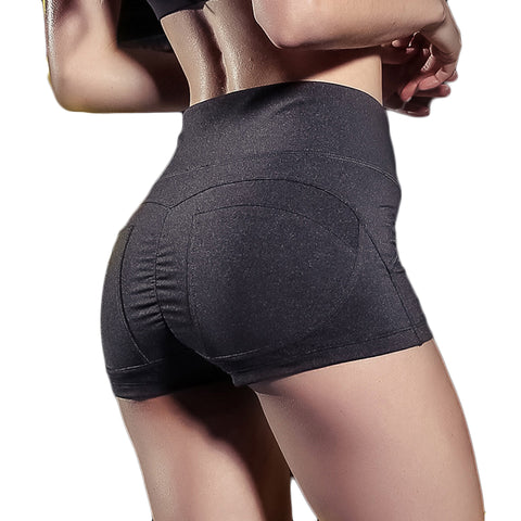 Quick Dry Running Elastic Tight Shorts