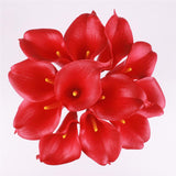 11pcs Artificial Mini Calla Lily Flower