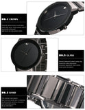 Minimalist Luxury Waterproof Wristwatch
