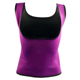 Plus Size Neoprene Sweat Sauna Hot Body Shaper-women fitness-wanahavit-Purple-S-wanahavit