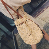 Casual Bucket Drawstring Shoulder Bag