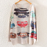 Printed Knitted Winter Long Sleeve Series 1-women-wanahavit-Birds-One Size-wanahavit