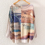 Printed Knitted Winter Long Sleeve Series 1-women-wanahavit-Whats Up-One Size-wanahavit