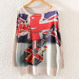 Printed Knitted Winter Long Sleeve Series 1-women-wanahavit-UK Guitar-One Size-wanahavit