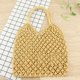 Bohemia Bali Straw Handwoven Beach Bags-women-wanahavit-Gold-wanahavit