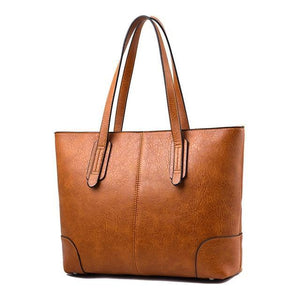 Large Luxury Designer Fashion Tote Handbag-women-wanahavit-brown-(30cm<Max Length<50cm)-wanahavit