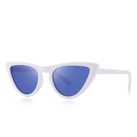 Cat Eye Brand Designer Sunglass-women-wanahavit-C01 White-wanahavit