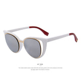 Cat Eye Retro Pierced Sunglass