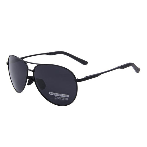 Aviator Polarized Sunglass-men-wanahavit-C01 Black-wanahavit