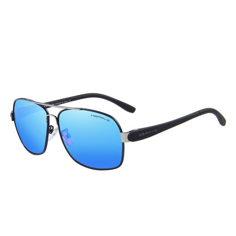 Rectangle Polarized Sunglass-men-wanahavit-C01 Blue-wanahavit
