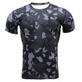 Camouflage Quick Dry Slim Fit Compression Tees-men fashion & fitness-wanahavit-TD21-Asian S-wanahavit