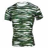Camouflage Quick Dry Slim Fit Compression Tees-men fashion & fitness-wanahavit-TD44-Asian S-wanahavit