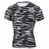Camouflage Quick Dry Slim Fit Compression Tees-men fashion & fitness-wanahavit-TD42-Asian S-wanahavit