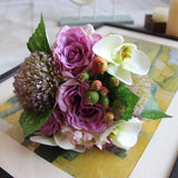 Mix Artificial Hydrangea Orchid Set