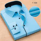 High Quality Plus Size Long Sleeve Shirt #125XX-men-wanahavit-Sky Blue-8XL47-wanahavit