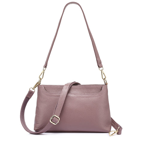 Genuine Leather Small Shoulder Bag-women-wanahavit-TaroPurple-(20cm<Max Length<30cm)-wanahavit