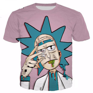 Rick And Morty Unisex 3D Tees-women-wanahavit-XXL-wanahavit