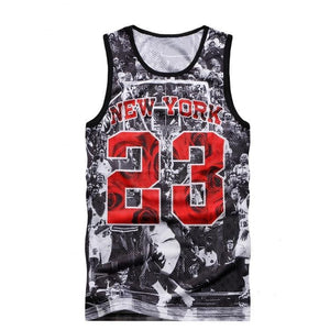 New York Jordan 23 Sleeveless Shirt-unisex-wanahavit-XXL-wanahavit