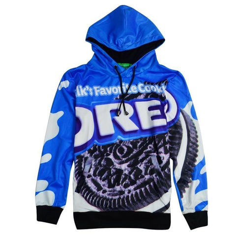Novelty Oreo 3D Printed Hoodies-women-wanahavit-XXL-wanahavit