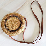 Bohemian Circle Wicker Rattan Shoulder Bag-women-wanahavit-Hollow 18x8-wanahavit